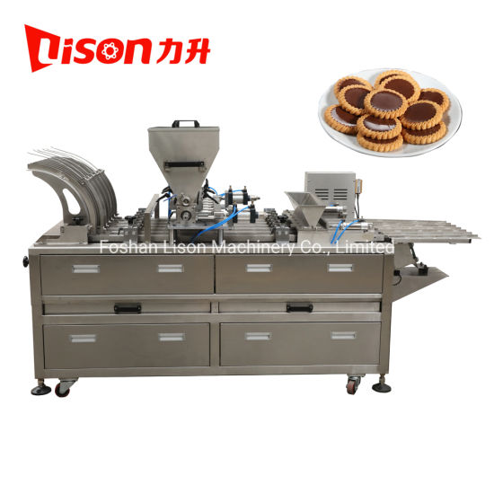Chocolate or Jam Depositing Biscuit Making Machine