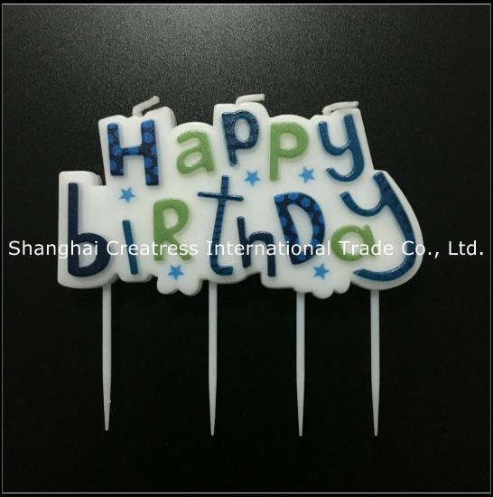 Prime China Factory Direct Paraffin Wax Blue Big Awesome Birthday Cake Funny Birthday Cards Online Overcheapnameinfo