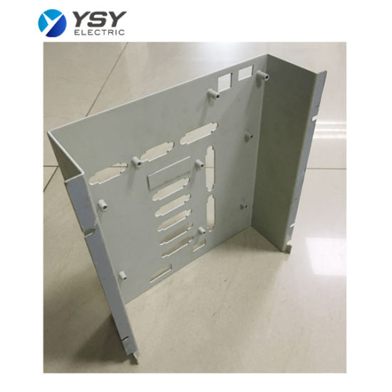 Metal Fabricated Sheet Metal Aluminum Powder Coated Front Panel and Enclosure