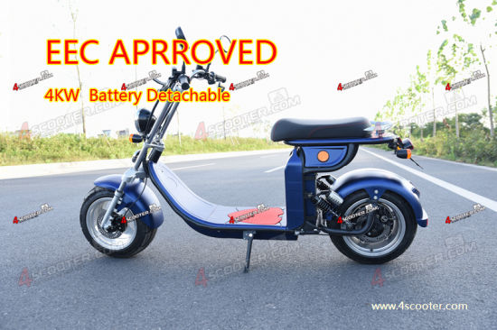 Big Discount 4000W 60V EEC City Coco with Attractive Prices