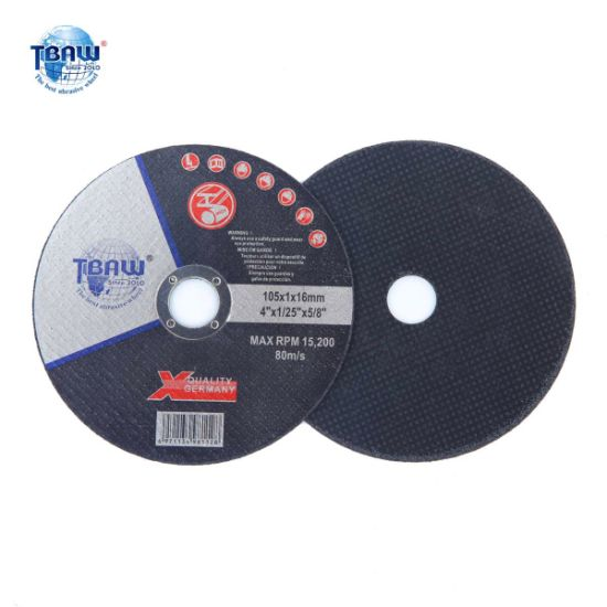 "4""105*1X22cm Hot Sale Abrasive Cutting Wheel"