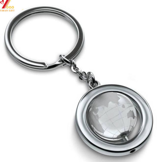 Hot Sale Custom Fashion Your Own Logo Zinc Alloy Trolley Token Coin Holder Trolley Coin Metal Key Chain for Promotional Gift (YB-K-001)