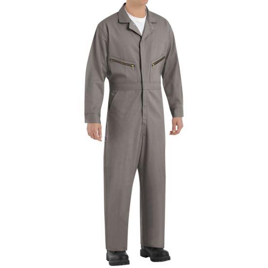 rendelés nagykereskedő új kiadás China Flame Resistant Safety Work Coverall Uniform Cotton Anti ...