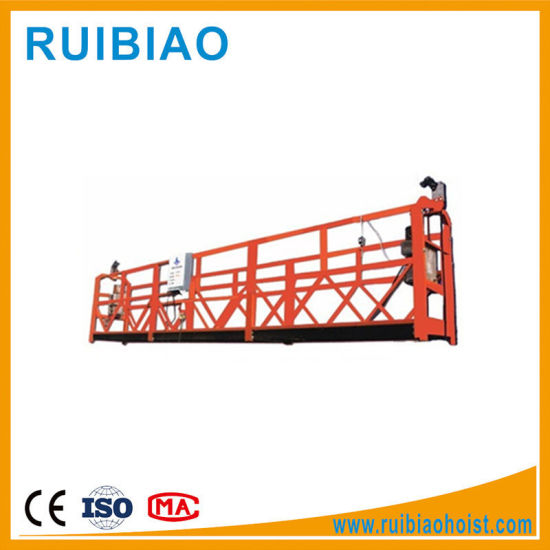 Aluminum Suspended Working Platform Zlp630 Construction Equipment