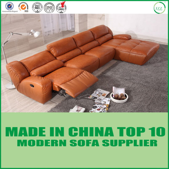Modern Living Room Furniture Leather Reclinable Sofa Chair