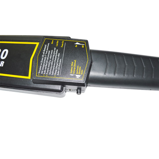 Approved Ultra Sensitivity Hand Held Metal Detector pictures & photos