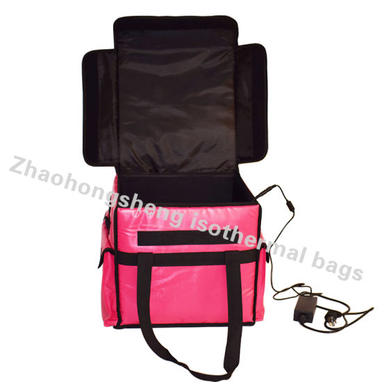 12v Insulated Heated Meal Delivery Lunch Takeaway Bag