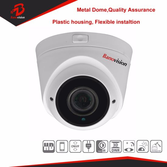 5MP Security CCTV Network IP Dome Camera with Varifocal Lens