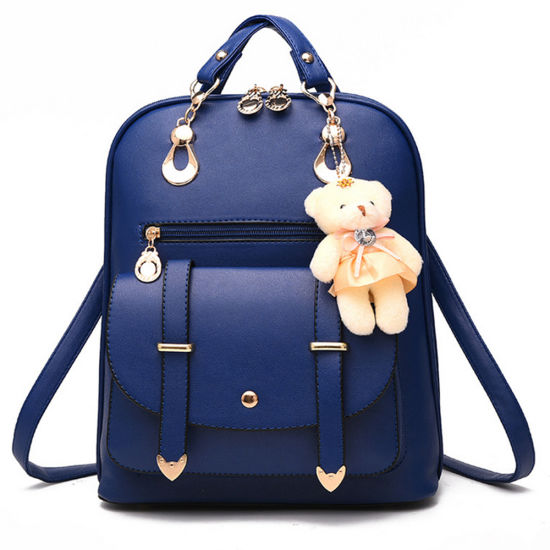 9ff23f43fa52 China Cute Pretty Girls Fashion Shoulder PU Leather Backpack Lady ...