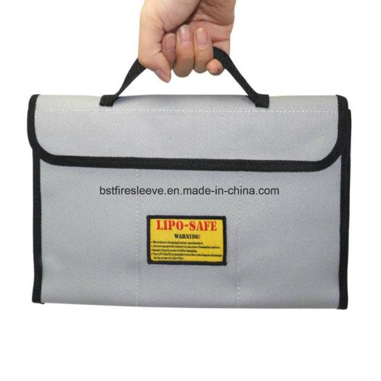 Fire Resistant Cash Box Document Bag Fire Safe Document Pouch