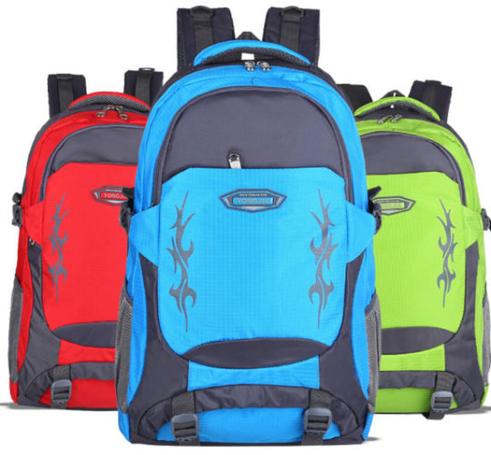 Lightweight Nylon Daypack Sportsbag Backpack