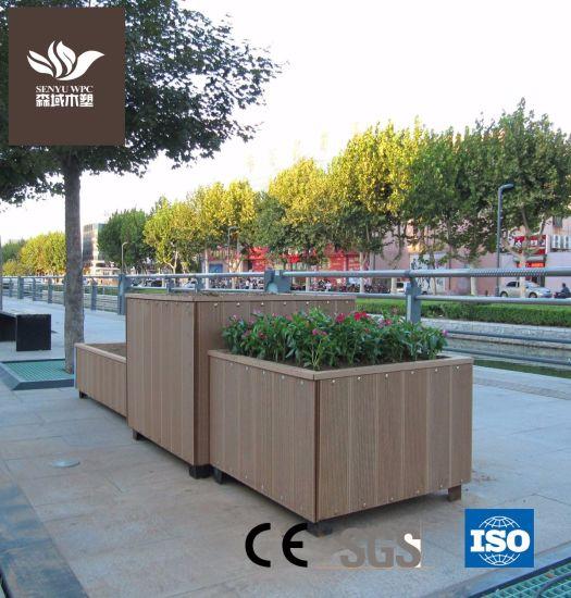 WPC Flower Box Wood Plastic Decking
