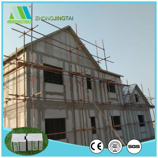 Dampproof Sound Absorbing Sandwich Wall Panels for Eco Prefab House pictures & photos