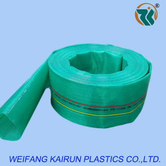 6 Inch High Quality Plastic6bar PVC Layflat Hose 4bar 8bar PVC Laayflat Hose