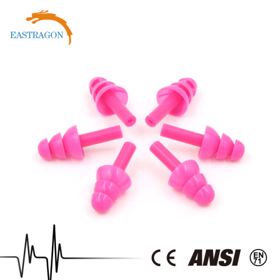 Swimming Safety High Quality Silicon Earplugs pictures & photos