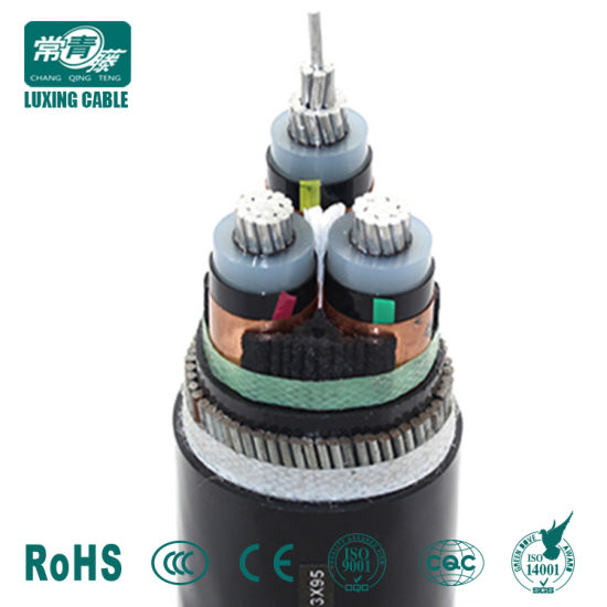 Avvg, Vvg, XLPE Insulated PVC Sheathed 3X Cores Power Cable