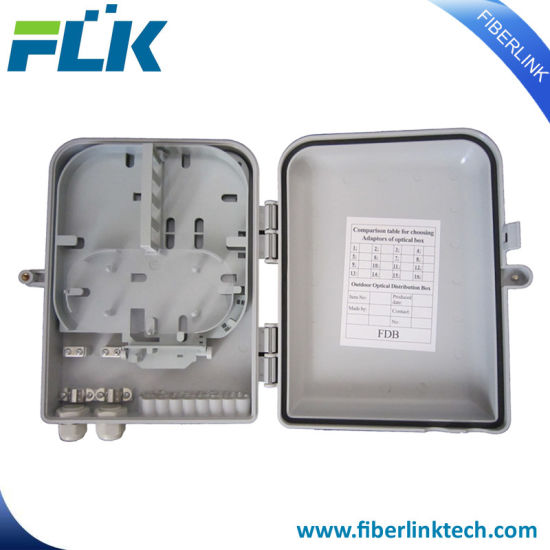 FTTX FTTH Wall Pole Mounted Fiber Optic Distribution Box Access Network Enclosure pictures & photos