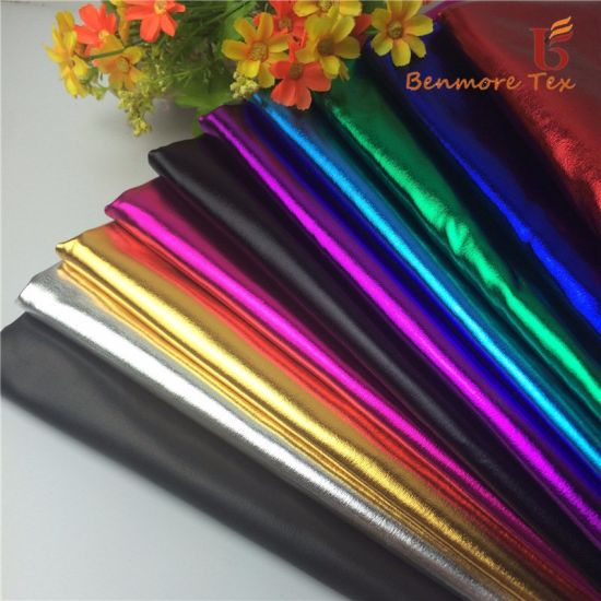 Polyester Spandex Foil Print Lycra Fabric for Performance Wear/Fashion Clothes pictures & photos