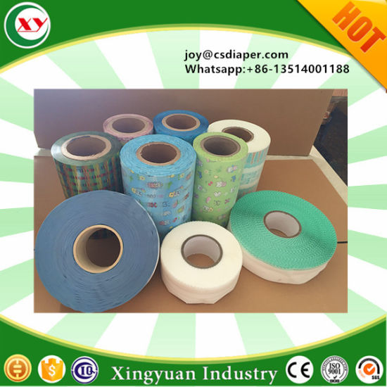 Diapers Raw Material Suppliers of Magic Frontal Tape