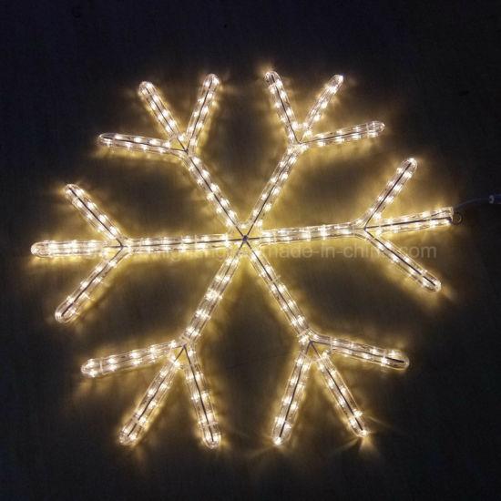 China Wholesale Christmas Lights Snowflake Motif Light - China Motif ...
