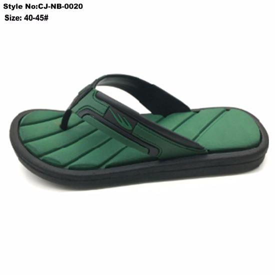 e2c4cafd3 EVA Green Sole Upper Sandals Men for Outdoor-Indoor Flip Flops Bath Slipper