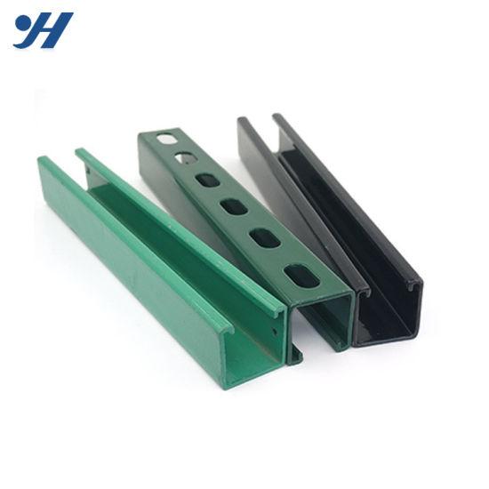 [Hot Item] HDG Wall Mount C Channel Steel Bracket