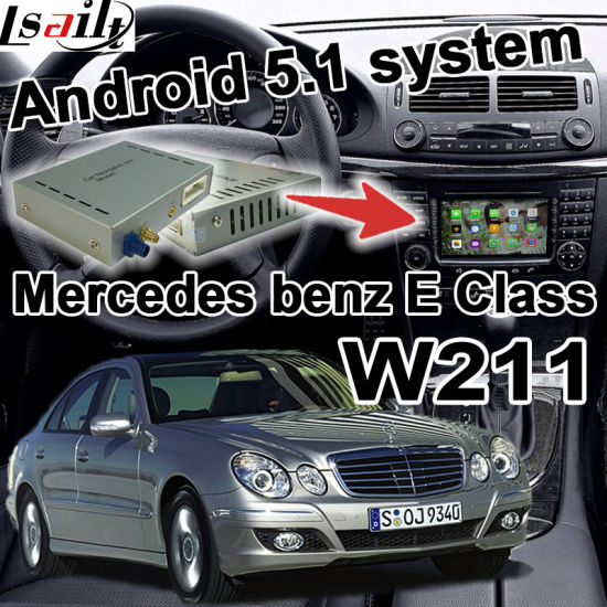 China Android GPS Navigation System Box Video Interface for Mercedes