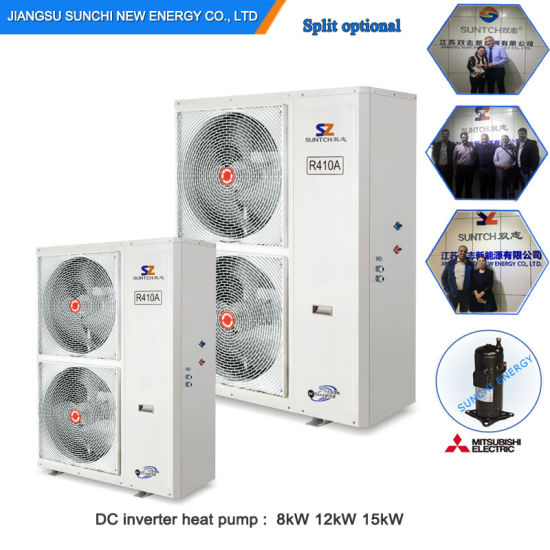 -20c Winter 19kw En14825 Evi Air Source Heat Pumps