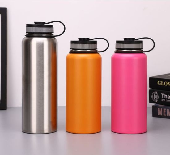 Ce EU Approved Custom Logo Double Wall Promotional 500ml Insulated Stainless Steel Water Bottle