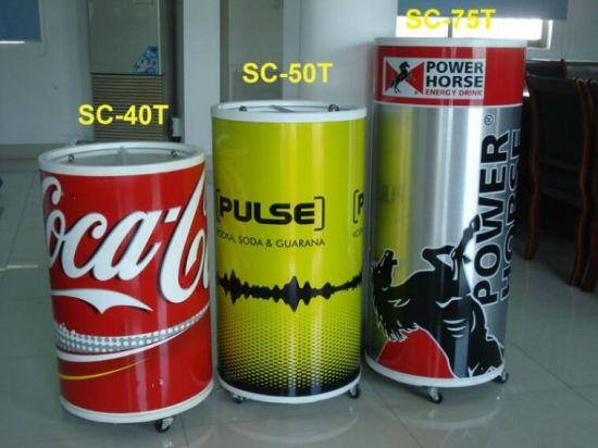 China 2017 Promotional Round Barrel Beverage Cooler Bbq