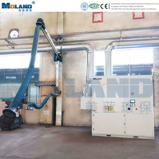 Moland Manufacture Industrial PTFE Cartridge Filtration Dust Collector, Welding Fume Extractor, Air Ventilation System