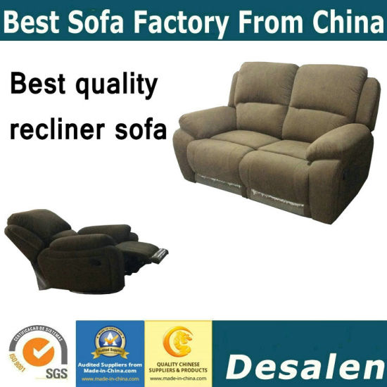 Fabric Recliner Sofa Chair In Living Room Furniture (S822)