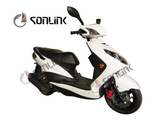 125cc High Speed Street Alloy Wheel Scooter (SL100T-LZ)