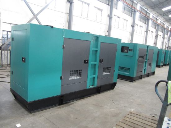 Modern Silent Type Genset Engine Electric Power Diesel Generator Set pictures & photos