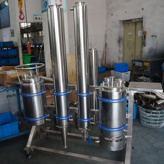 China Stainless Steel Mini Lab Oil Closed Loop Extractor