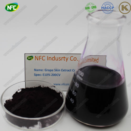 China Food Grade Natural Organic Food Colour Grape Skin Extract ...