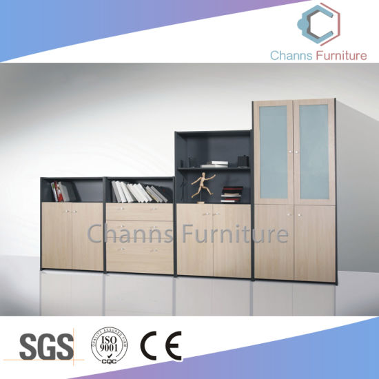 Fashion Office Wooden Furniture File Filing Storage Cabinet with Two Doors (CAS-FC18510)