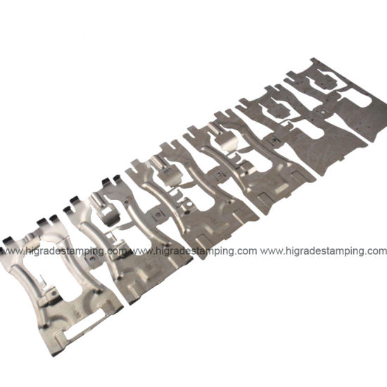 Customized Automotive Progressive Die for Hardware Auto Stamped Parts/Pressings/Stampings with SPCC/ SUS/ High Strength Steel/Aluminum/Carbon Steel/Alloy Steel