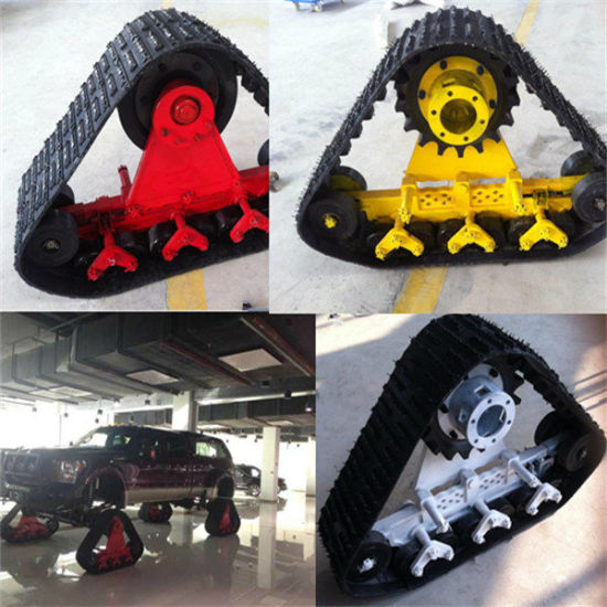 Rubber Track System For Off Road Suv Jeep Within 4 Tons Pictures Photos
