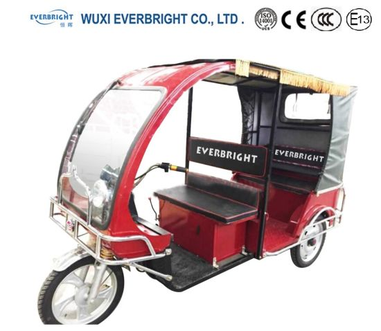 Electric Three Wheel Tricycle Motorcycle, Electric Car pictures & photos