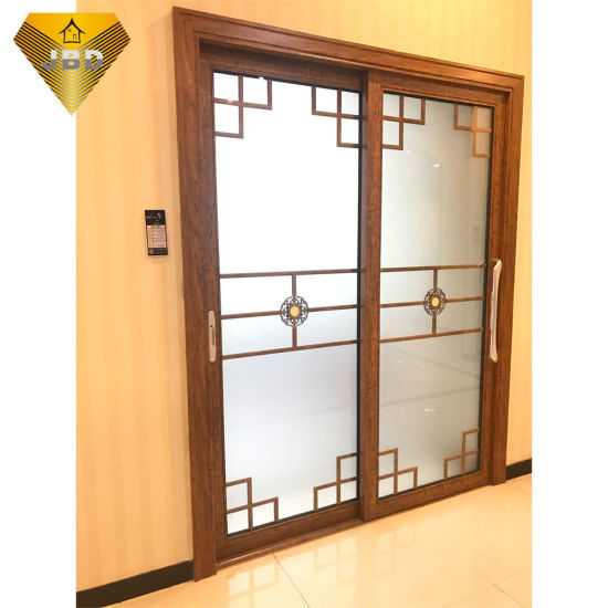 China Aluminum Sliding Door With Designed Glass China Aluminum