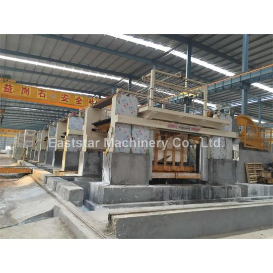 Gang Saw Machine for Cutting Marble Stone Block pictures & photos