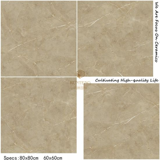 Resplendent Marble Stone Ceramic Flooring Tile