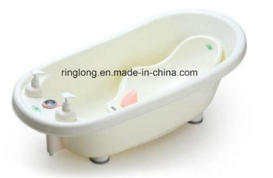 China Baby Bathtub with Heat Meter, Plastic Baby Basin Children ...