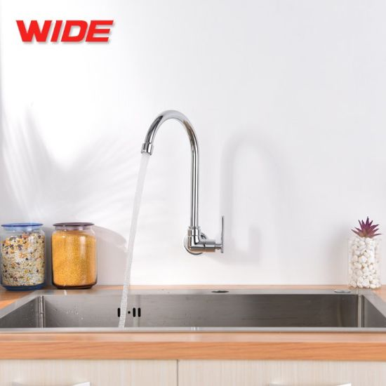 High Quality Sink Kitchen Faucet Wall Mounted Kitchen Tap ...