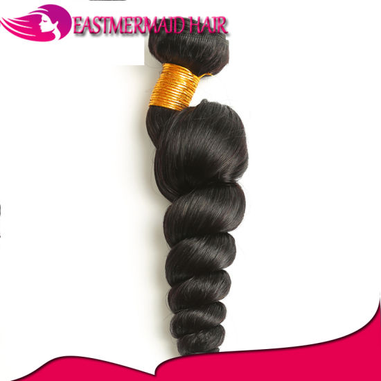 Great Wholesale Virgin Indian Remy Hair Loose Wave Hair Extensions
