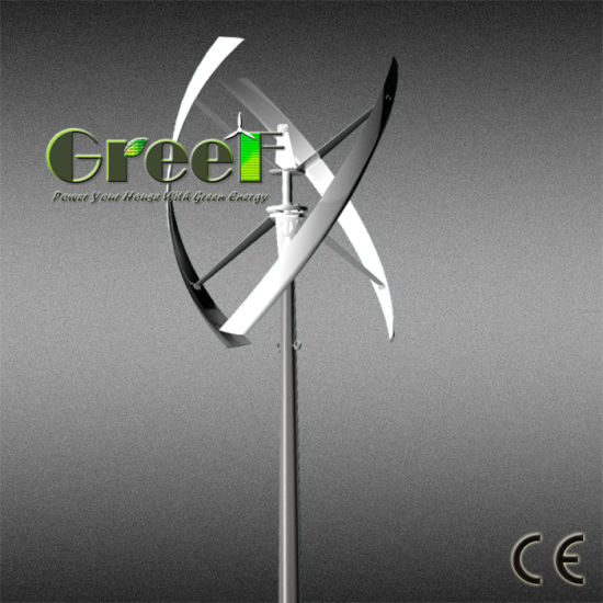 Small Vertical Axis Wind Turbine Generator for Home Use pictures & photos
