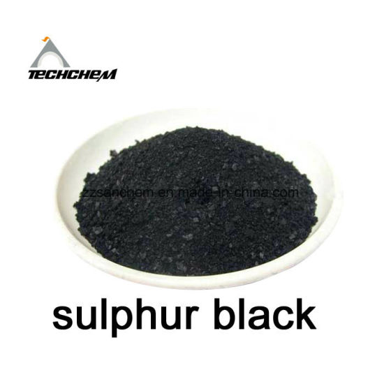 Top Quality Sulphur Black Br 200% for Jean Denim Dye pictures & photos
