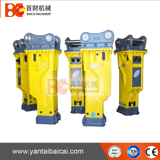 China Most Reliable Hydraulic Rock Hammer With Chisel 135mm For