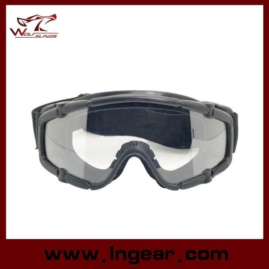 25c41adc5b3 Tactical Airsoft Sport Style Goggle Safety Glasses Without Button pictures    photos